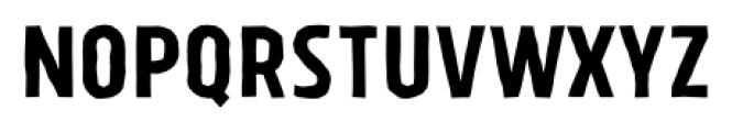 Tolyer X Handmade No.1 Font UPPERCASE