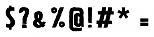 Tolyer X Handmade No.2 Font OTHER CHARS