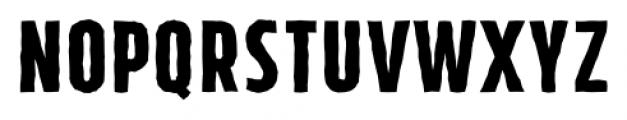 Tolyer X Handmade No.2 Font UPPERCASE