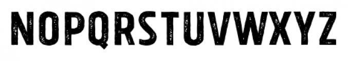 Tolyer X Vintage No.1 Font UPPERCASE