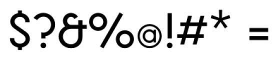 Toronto Subway Regular Font OTHER CHARS