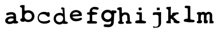 Toxica Regular Font LOWERCASE