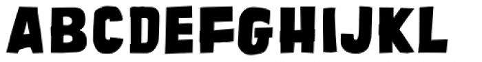 Tobago Block Font UPPERCASE