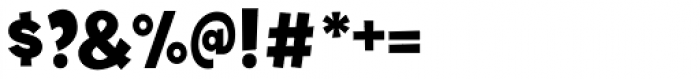 Tobi Black Font OTHER CHARS