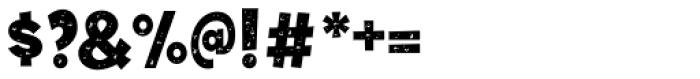 Tobi Dirt Black Font OTHER CHARS