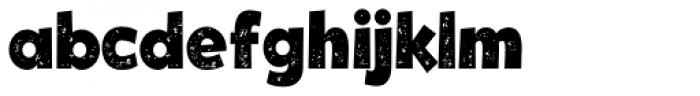 Tobi Dirt Black Font LOWERCASE