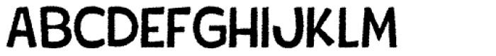 Tobi Light Dirt Rough Font UPPERCASE