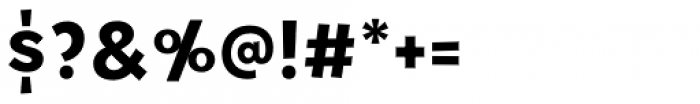Tobi Pro Extra Bold Font OTHER CHARS