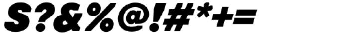 Toboggan Black Italic Font OTHER CHARS
