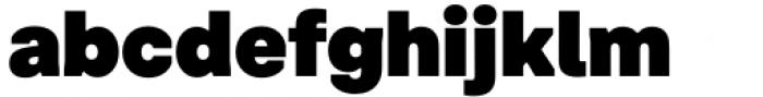 Toboggan Black Font LOWERCASE