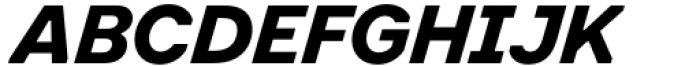 Toboggan Bold Italic Font UPPERCASE