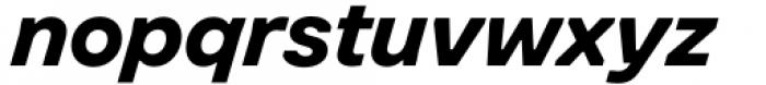 Toboggan Bold Italic Font LOWERCASE