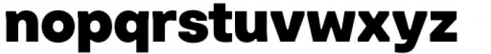 Toboggan Heavy Font LOWERCASE