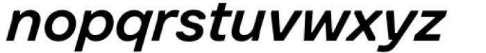 Toboggan Medium Italic Font LOWERCASE