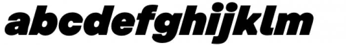 Toboggan Super Italic Font LOWERCASE
