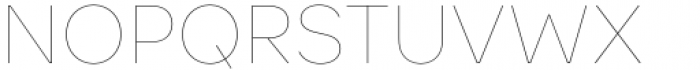 Toboggan Thin Font UPPERCASE
