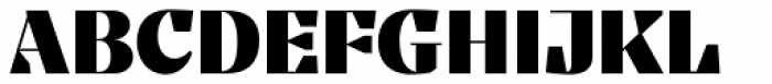 Tocco Bold Font UPPERCASE