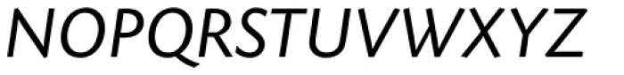 Today SB Italic Font UPPERCASE