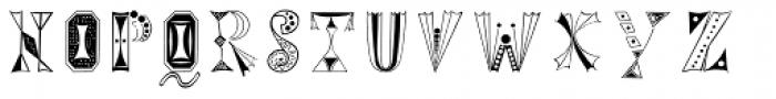 Tokay EF Regular Font UPPERCASE