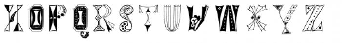 Tokay EF Regular Font LOWERCASE