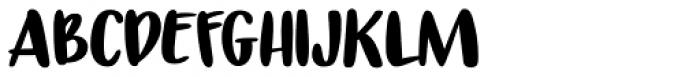 Tokeh Regular Font UPPERCASE