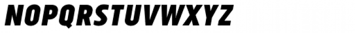 Tolyer Bold No.1 Oblique Font UPPERCASE