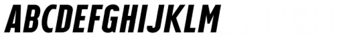 Tolyer Bold No.4 Italic Font UPPERCASE