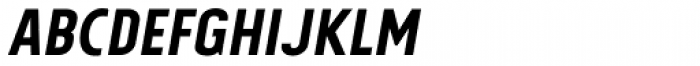 Tolyer Medium No.2 Italic Font UPPERCASE