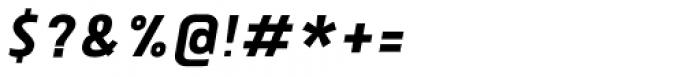Tolyer No.1 Medium Italic Font OTHER CHARS
