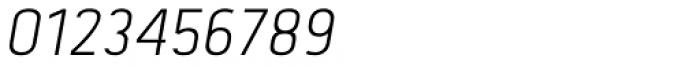 Tolyer No.2 Light Italic Font OTHER CHARS