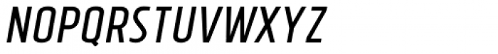 Tolyer No.3 Italic Font UPPERCASE