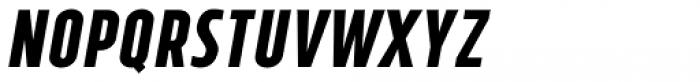 Tolyer No.4 Bold Italic Font UPPERCASE