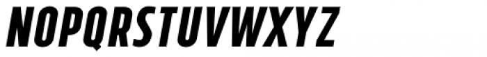 Tolyer No.4 Bold Italic Font LOWERCASE