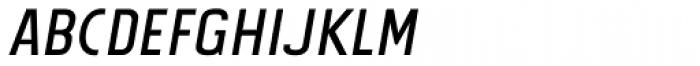 Tolyer Regular No.2 Italic Font LOWERCASE