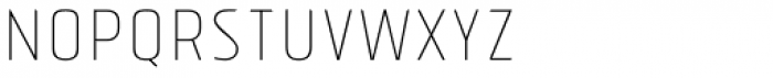 Tolyer Thin No.2 Font UPPERCASE