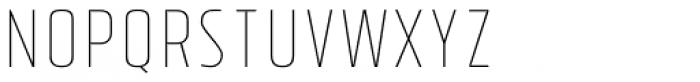 Tolyer Thin No.4 Font LOWERCASE