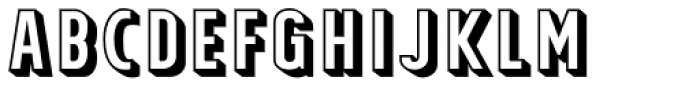Tolyer X 3D Font UPPERCASE