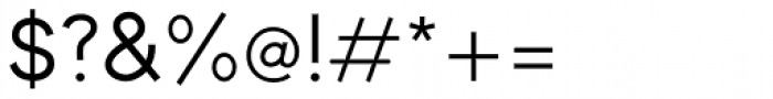 Toma Sans Medium Font OTHER CHARS