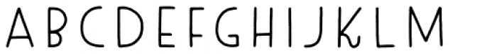 Tomarik Extrovert Font UPPERCASE