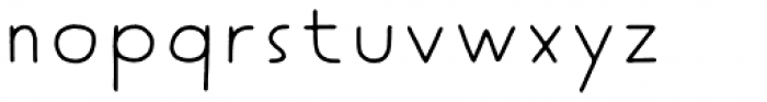 Tomarik Extrovert Font LOWERCASE