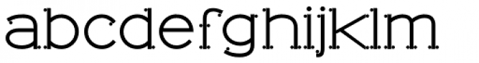 Tomino Font LOWERCASE