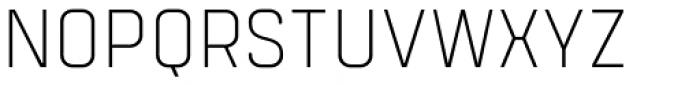 Tomkin Narrow ExtraLight Font UPPERCASE