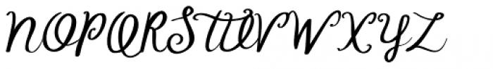 Tompouce Font UPPERCASE