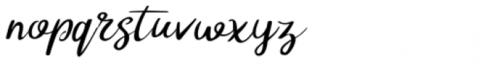 Tompouce Font LOWERCASE