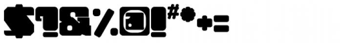 Tonal Font OTHER CHARS
