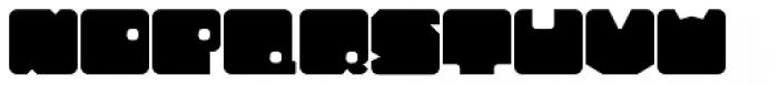 Tonal Font UPPERCASE