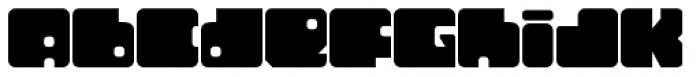 Tonal Font LOWERCASE