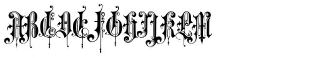 Tondella Font UPPERCASE