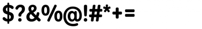Tondo Signage Font OTHER CHARS