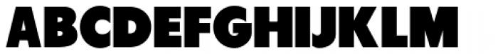 Tondu Font UPPERCASE